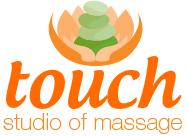 Logo Touch Studio of Massage